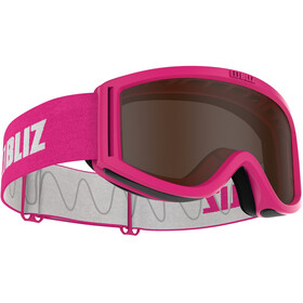 Bliz Pixie Goggles Kinderen, pink/brown
